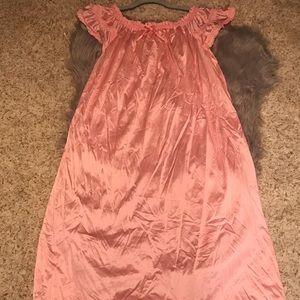 Vintage Bernette New York baby Pink Chemise